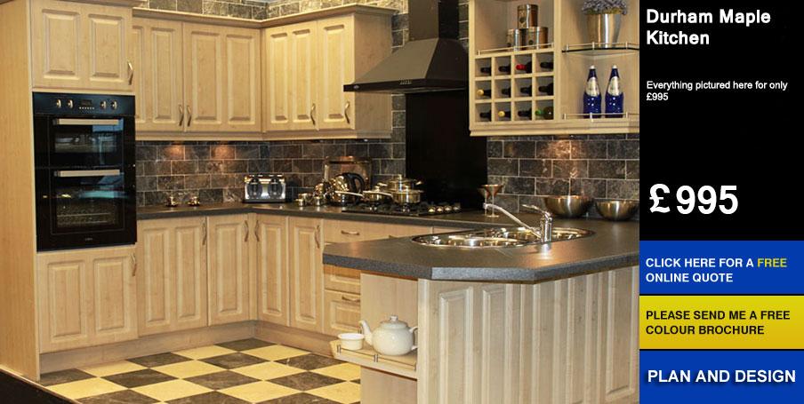 Durham Maple - Kitchen For Sale